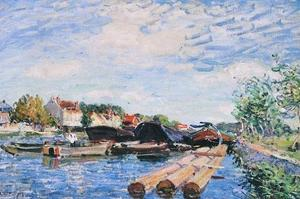 104sisley_alfred_le_canal_du_loing_