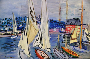 30raoul_dufysailingboats_in_deauvil