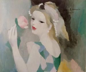 13femme_a_la_rose1930