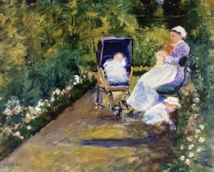 25children_in_a_gardenthe_nurse1878